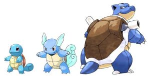 evolving pokemon