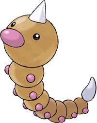 pokemon go Weedle