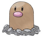 pokemon go Diglett