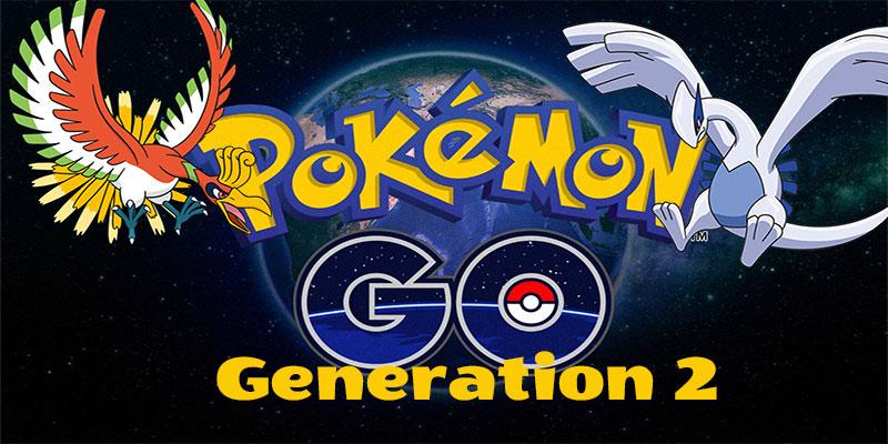 Pokemon Go Generation 2 new pokemon