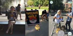 First Pokemon Go Meetup Held at Washington Square Park