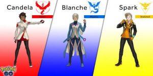 Pokemon Go Team Leaders Announced