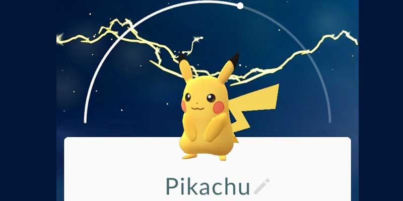 get pikachu as pokemon go starter