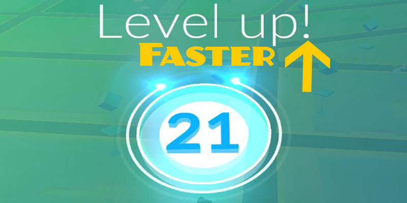 pokemon go level up faster
