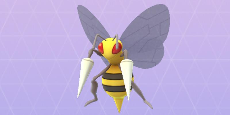 rare pokemon go beedrill